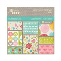 "Jillibean Soup Collection Kit 6"" x 6"" Summer Red Raspberry Soup"