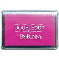 BoBunny Double Dot Pigment Ink Pad Pink Punch