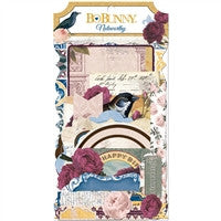 BoBunny Rose Cafe Noteworthy Die Cuts