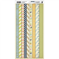 "Fancy Pants Collecting Moments Tape Stickers 6""X12""-"