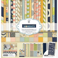 "Fancy Pants Designs Collection Kit 12""X12"" Collecting Moments"