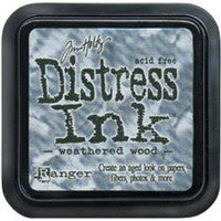Tim Holtz Distress Ink Pad Weathered Wood