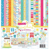 Echo Park I Love Sunshine Collection Kit 12 x 12