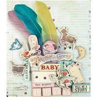 Prima Marketing Bedtime Story Chipboard Sticker and More