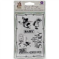 Prima Marketing Bedtime Story Cling Stamp