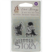 Prima Marketing Bedtime Story Clear Stamps Little Story