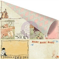 Prima Marketing Bedtime Story 12 x 12 Paper Imagination