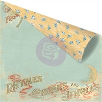 Prima Marketing Bedtime Story 12 x 12 Paper Mothergoose
