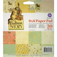 Prima Marketing Bedtime Story Paper Pad 6 x 6