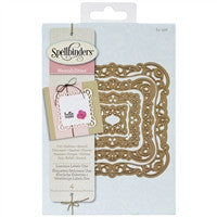 Spellbinders Nestabilities Decorative Elements Luscious Labels 1