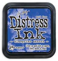 Tim Holtz Distress Ink Pad July Blueprint Sketch
