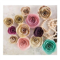 Prima Marketing Butterfly Collection Mulberry Paper Flowers Chorion