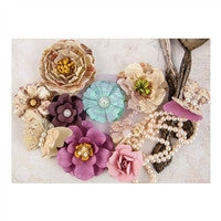 Prima Marketing Butterfly Collection Mulberry Paper Flowers Pupa