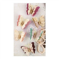 Prima Marketing Butterfly Collection Mulberry Paper Butterflies