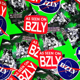 BZLY VOL 1 ISSUE 3 STICKERS