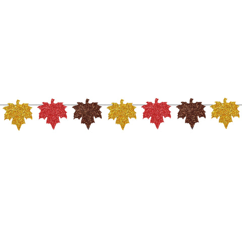 Fall Leaf Thanksgiving Banner