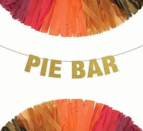 Pie Bar Thanksgiving Banner
