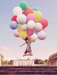 "Giant 36"" Balloons, Latex Round Balloons Perfect for Birthday Parties, Weddings, and Celebrations"