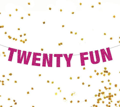 Twenty Fun, 21st Birthday Banner, 21st Birthday Photo Prop, 21 Fake ID, Twenty Fun Banner, Finally 21, Drinking Party, 21st Birthday Decor