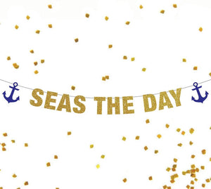 Seas The Day Banner
