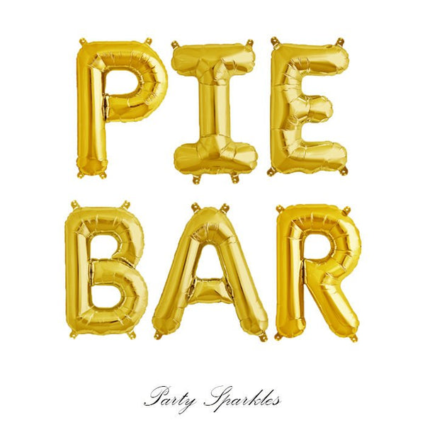 Pie Bar Balloons, Pie Bar Banner Balloons, Thanksgiving Balloons, Dessert Bar Thanksgiving Ideas, Thanksgiving Banner, Thanksgiving Decor