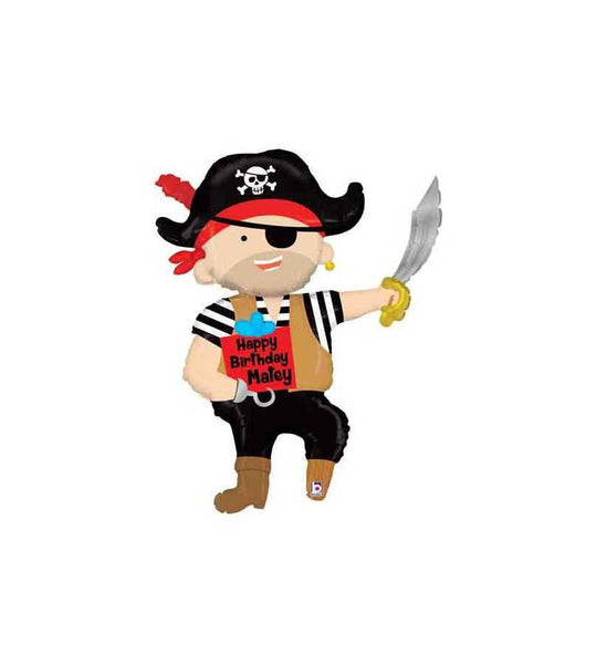 Pirate Balloon, Pirate Baby Shower, Pirate Birthday Party, Pirate Birthday Backdrop, Pirate decor, Pirate decorations, Pirates of Carribean