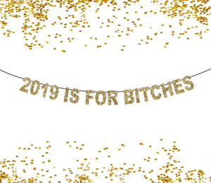 2020 Is For Bitches New Years Banner