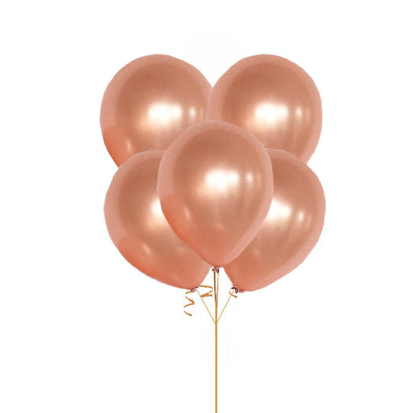 "Rose Gold Balloons 36"", HUGE Round Latex Balloons, Rose Gold 3 foot Balloon, Rose Gold Big Balloons, Rose Gold Party Decor"