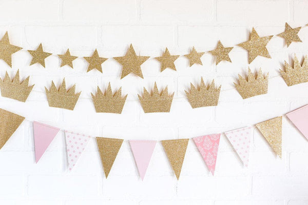 Copy Crown and star and pennant to list banner
