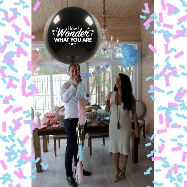 How I Wonder What You Are Gender Reveal Balloon Twinkle Twinkle Little Star Reveal Party