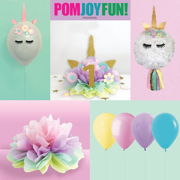Unicorn Cake Topper, Unicorn First Birthday Birthday Decoration, Numbered Centerpiece, Unicorn Birthday Party First Birthday Decoration