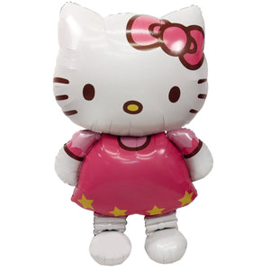 "SALE Hello Kitty Balloons, 50"" Air walker, Hello Kitty Party Ideas, hello kitty Birthday Party, Hello Kitty Party decor, Giant hello kitty"