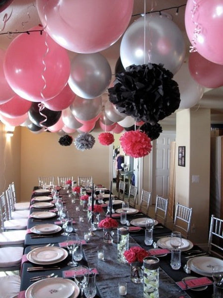 "Silver balloons, 36"" Silver Balloons, Silver 3 foot Balloon, HUGE Round Latex Balloons, Silver Big Balloons, high quality"