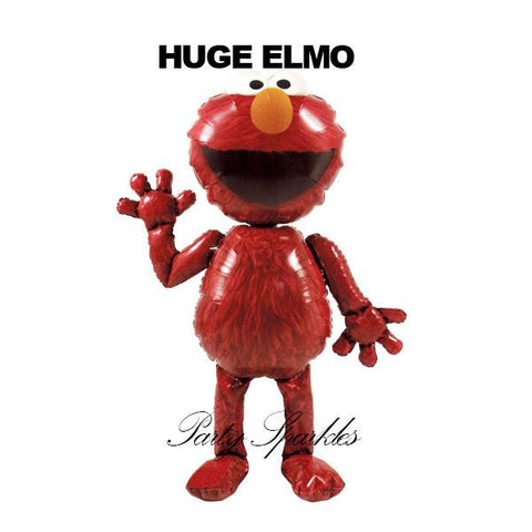 "54"" Elmo Giant Balloon Airwalker BIrthday Party, Elmo Balloon, Foil Balloon, Elmo Airwalker"