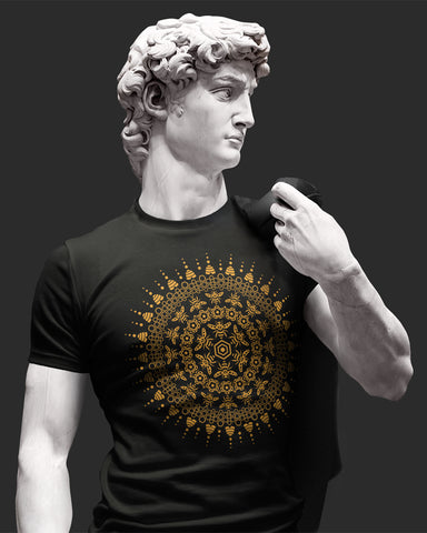 Bee Mandala Sustainable Shirt