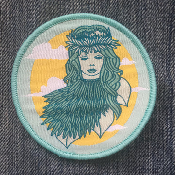 CLEARANCE! Mother Nature - Patch - Fox & Fir Design