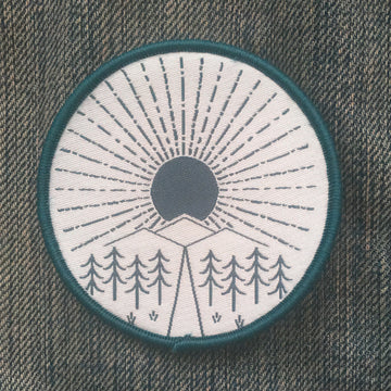 CLEARANCE! Sunny Trail - Patch - Fox & Fir Design