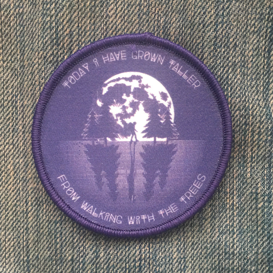 CLEARANCE! Walking with the Trees - Patch - Fox & Fir Design