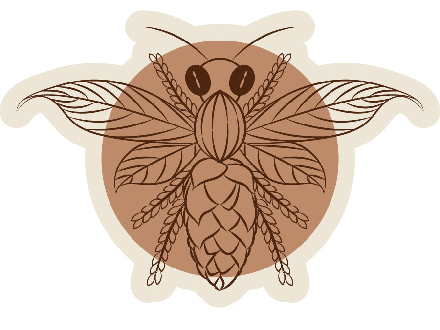 Buzzed! - Patch - Fox & Fir Design