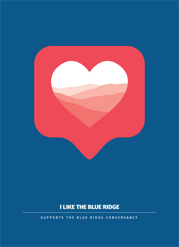 I Like the Blue Ridge - 5x7 Archival Print