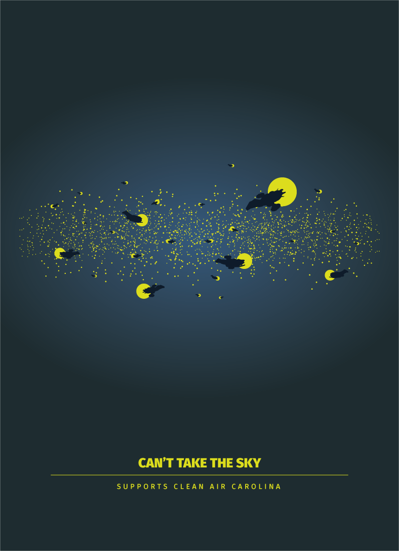 Can't Take the Sky - 5x7 Archival Print