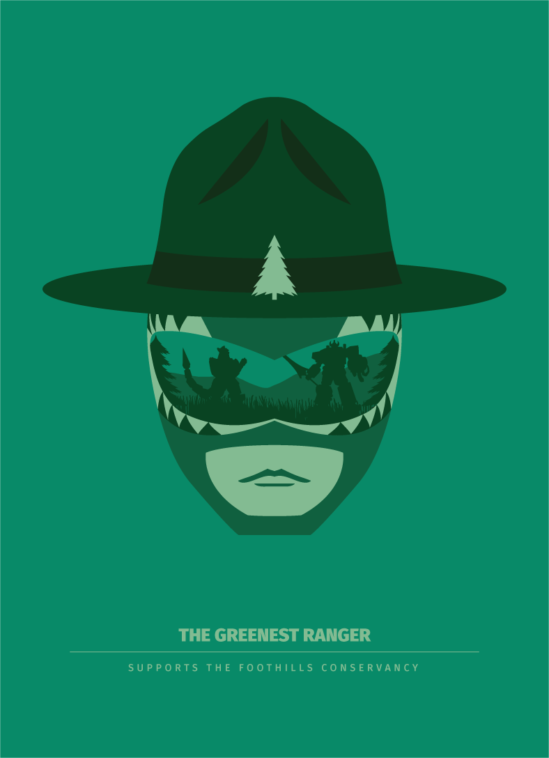 The Greenest Ranger - 5x7 Archival Print