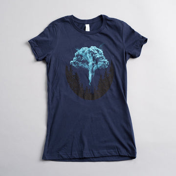 Expecto Arborus - Ladies - Fox & Fir Design