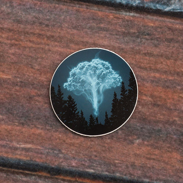 Expecto Arborus - Sticker - Fox & Fir Design