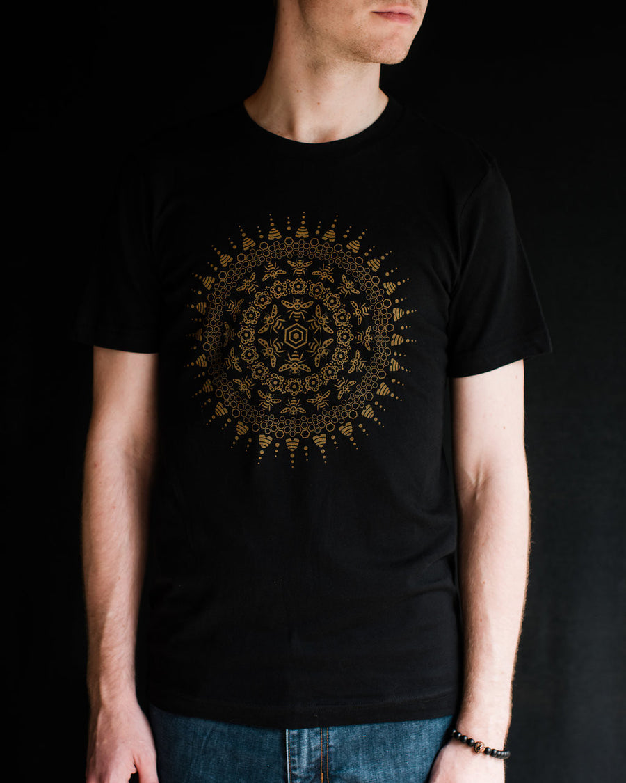 Bee Mandala - Unisex - Fox & Fir Design