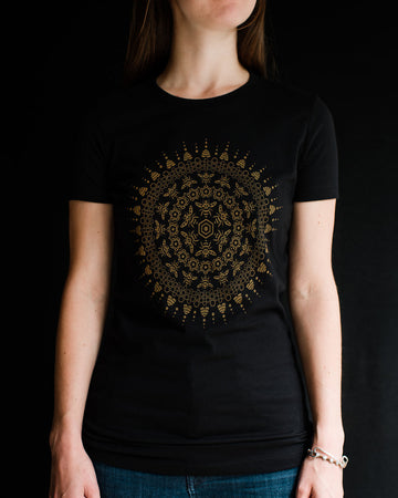 Bee Mandala - Ladies - Fox & Fir Design