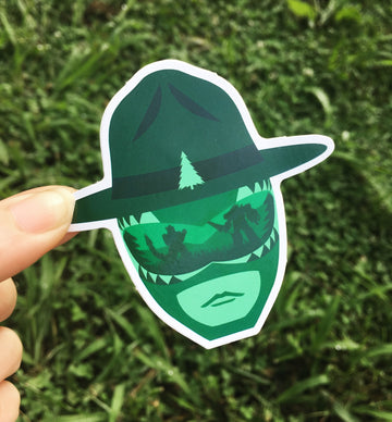 The Greenest Ranger - Sticker