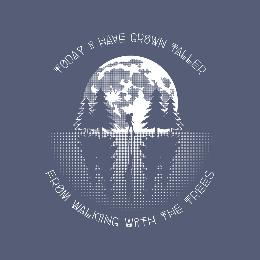 CLEARANCE! Walking with the Trees - Unisex - Fox & Fir Design