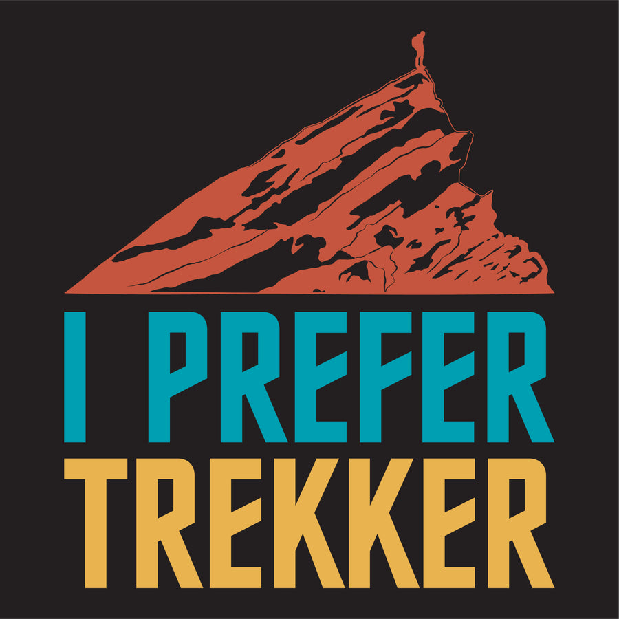 I Prefer Trekker - Ladies - Fox & Fir Design