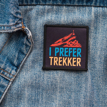 I Prefer Trekker - Patch - Fox & Fir Design